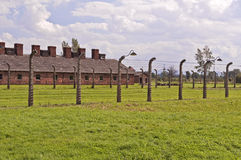 Auschwitz Birkenau concentration camp. Stock Photography