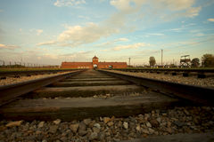 Auschwitz-Birkenau Concentration Camp Stock Photos