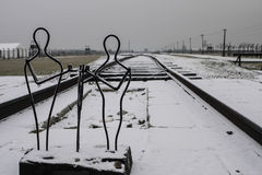 Auschwitz Birkenau II Stock Photo