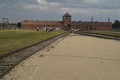 Auschwitz Birkenau Royalty Free Stock Photo