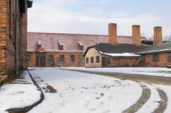 The Auschwitz-Birkenau  Museum Stock Photos