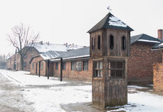 The Auschwitz-Birkenau Museum Royalty Free Stock Images