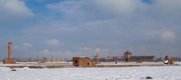The Auschwitz-Birkenau Museum Royalty Free Stock Photos