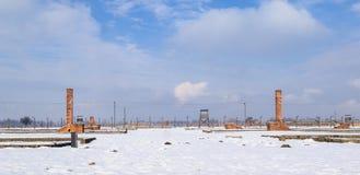 The Auschwitz-Birkenau Museum Royalty Free Stock Image