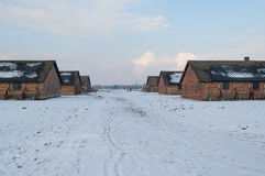 The Auschwitz-Birkenau Museum Stock Image