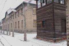 The Auschwitz-Birkenau Museum Royalty Free Stock Images