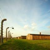 auschwitz birkenau obozu koncentracja obrazy stock
