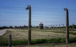 Auschwitz-Birkenau, tysk nazistkoncentration och utrotningen campar i Polen Royaltyfri Bild