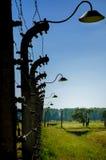 Auschwitz-Birkenau, tysk nazistkoncentration och utrotningen campar i Polen Arkivfoton