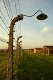 Auschwitz--Birkenaukonzentrationslager Stockbilder