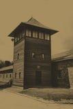 auschwitz birkenauläger fotografering för bildbyråer