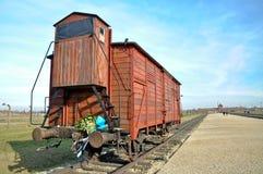 Auschwitz camp Stock Image
