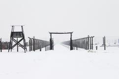 Auschwitz camp, Poland Royalty Free Stock Photo