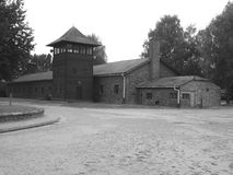 Auschwitz camp, Poland Stock Photos