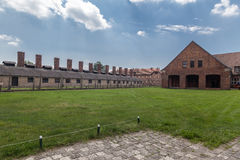 Auschwitz Concentration Camp Royalty Free Stock Photography