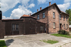 Auschwitz Concentration Camp Royalty Free Stock Photo