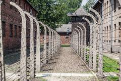 Auschwitz Concentration Camp Royalty Free Stock Images