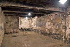 Auschwitz Concentration Camp. Gas chamber at Auschwitz Concentration Camp in Poland Royalty Free Stock Photo