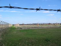 Auschwitz Royalty Free Stock Photos