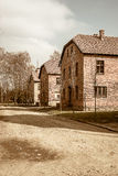 Auschwitz concentration camp Royalty Free Stock Photos