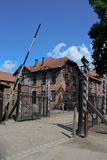 Auschwitz concentration camp in poland. 