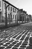 Auschwitz Concentration Camp - Poland stock photos