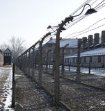 Auschwitz Concentration Camp - Poland. Auschwitz II-Birkenau, the extermination camp, where up to three million people were murdered by the Nazis (2.5 million Royalty Free Stock Images