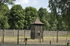 Auschwitz concentration camp, Poland Stock Photography