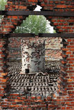 Auschwitz crematoria Royalty Free Stock Images