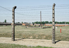 Auschwitz death camp Stock Photography