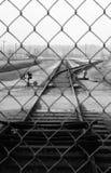 Auschwitz-Denkmal lizenzfreie stockbilder