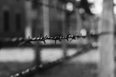 Auschwitz Details II Stock Photo