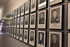 Auschwitz-Gefangen-Fotos Stockfoto