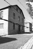 Auschwitz I. Concentration camp Auschwitz - Birkenau in Poland royalty free stock images