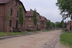 Auschwitz I, Pologne Photo libre de droits