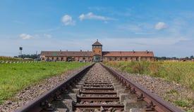 Auschwitz II - Birkenau Imágenes de archivo libres de regalías