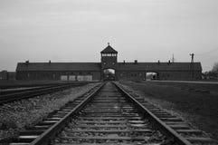 Auschwitz II Birkenau Foto de archivo