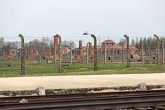 Auschwitz II Birkenau Immagine Stock Libera da Diritti