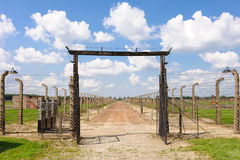 Auschwitz II - Birkenau stock afbeeldingen
