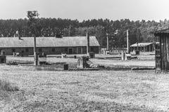 Auschwitz II - Birkenau-Block 22 Lizenzfreie Stockfotos