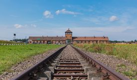 Auschwitz II - Birkenau Royalty Free Stock Images