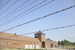 Auschwitz II Birkenau koncentracyjny obóz Obrazy Stock