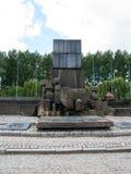 Auschwitz II Birkenau, Polen, 4 November, 2014 - Internationaal Monument aan de Slachtoffers van het Kamp royalty-vrije stock foto's