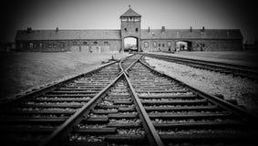 Auschwitz II - Birkenau, POLOGNE Images stock
