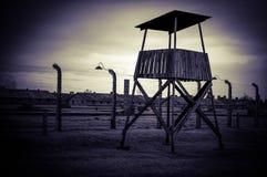 Auschwitz II - Birkenau, POLSKA Fotografia Stock