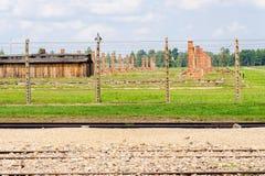Auschwitz II - Birkenau sector II ruins Stock Photography
