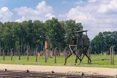 Auschwitz II - Birkenau Royalty Free Stock Images