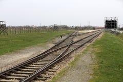Auschwitz il più grande II Birkenau Fotografia Stock