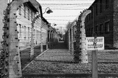 Auschwitz-Konzentrationslager war ein Netz der Konzentration und Ausrottunglager bauten auf und funktionierten durch das Drittes  Stockfoto