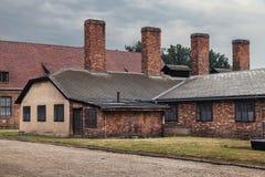 Auschwitz lägerkök Royaltyfri Bild